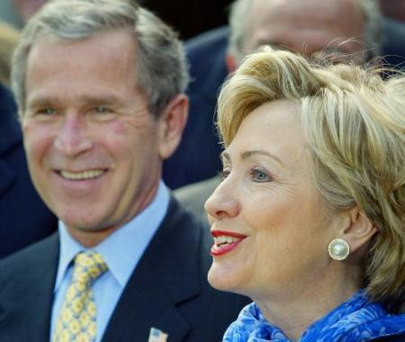 Bush&clinton