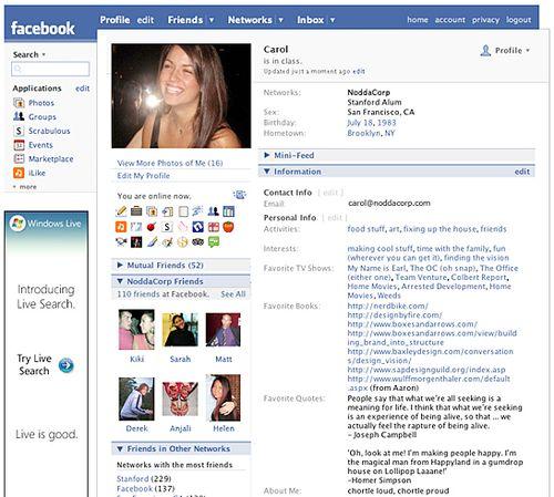 Facebook-popularity