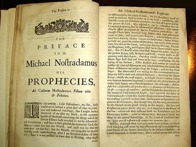 Nostradamus-prophecies