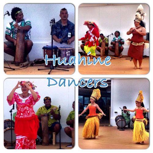 Huahine dancers